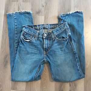 American Eagle Straight Leg Women's 26/28 FLAW